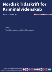 Front page of journal NTfK. Theme: Frihedsberovelse og frihedsberovede